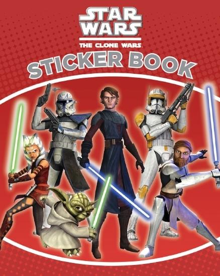 Star Wars: The Clone Wars Sticker Book