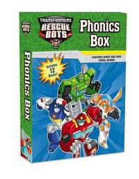 Transformers Rescue Bots: Phonics Box by Lucy Rosen
