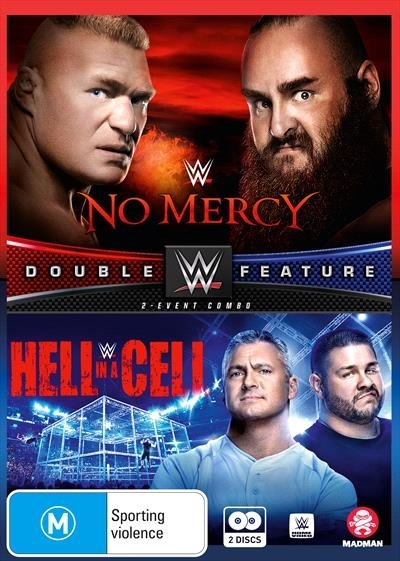 WWE: No Mercy/Hell In a Cell - 2017 Double Feature on DVD image
