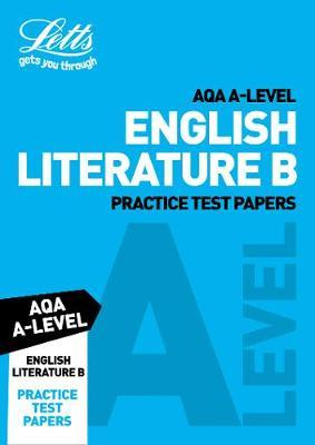 AQA A-Level English Literature B Practice Test Papers by Letts A-Level image