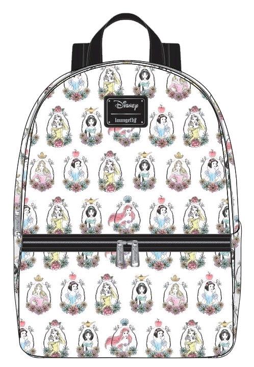 Loungefly: Disney - Princess Portraits Mini Backpack