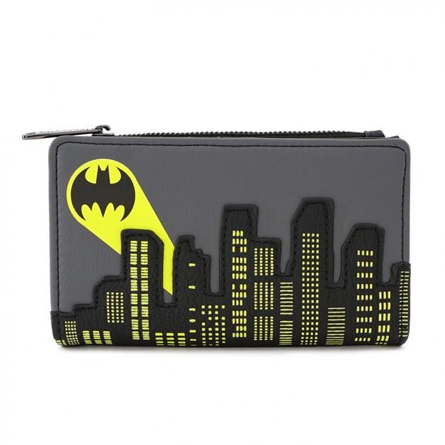Loungefly: Batman Flap Purse - Batsignal