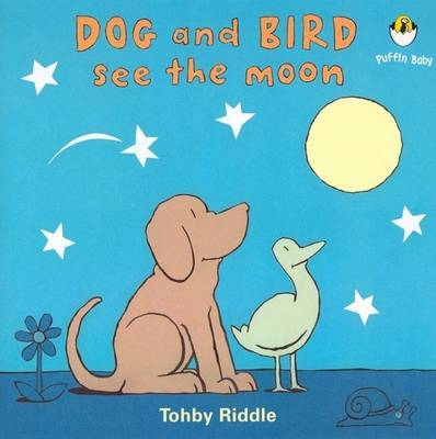 Dog and Bird See the Moon image