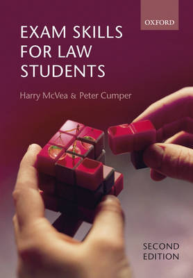 Exam Skills for Law Students by Harry McVea image