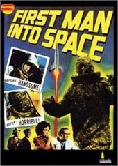 First Man Into Space on DVD