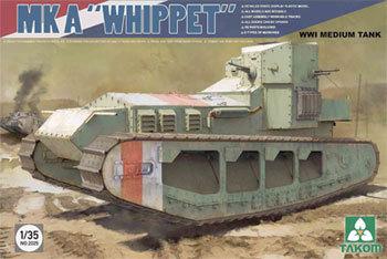 1/35 WWI Mark A Whippet Model Kit