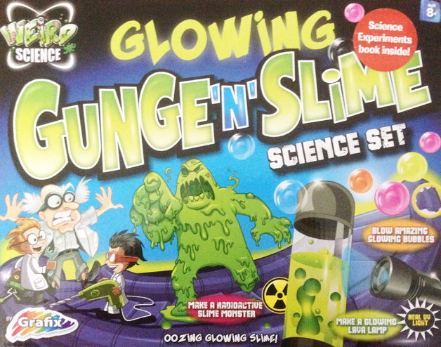 Grafix: Weird Science - Glowing Gunge n Slime Science Set