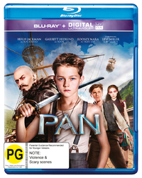 Pan on Blu-ray, UV