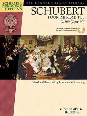 Schubert: Four Impromptus, D. 899 (0pus 90) image