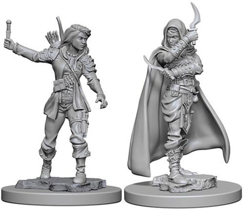 Pathfinder Deep Cuts: Unpainted Miniature Figures - Human Female Rogue