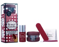 Le Mini Macaron All in One Gel Manicure Kit - Cassis