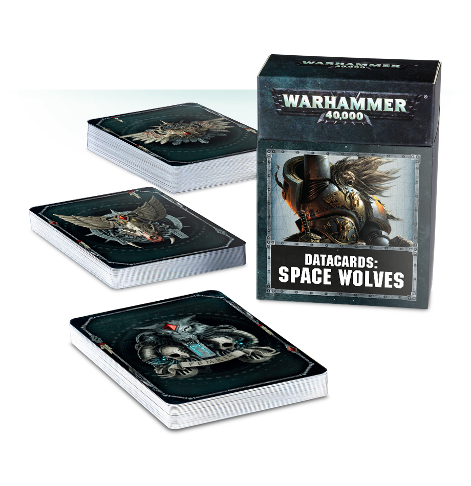 Warhammer 40,000: Space Wolves Data Cards image