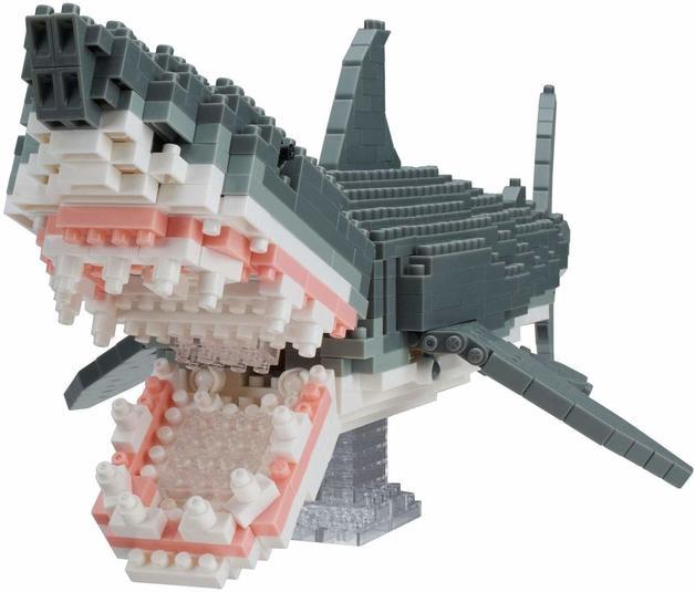 nanoblock: Animals Deluxe - Great White Shark