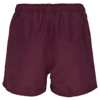 Professional Polyester Short Junior - Maroon (8YR)