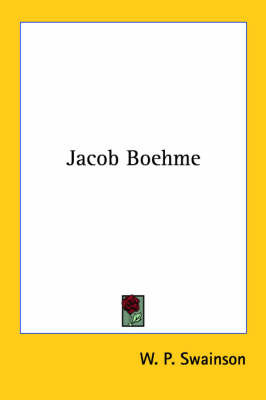 Jacob Boehme by W.P. Swainson image