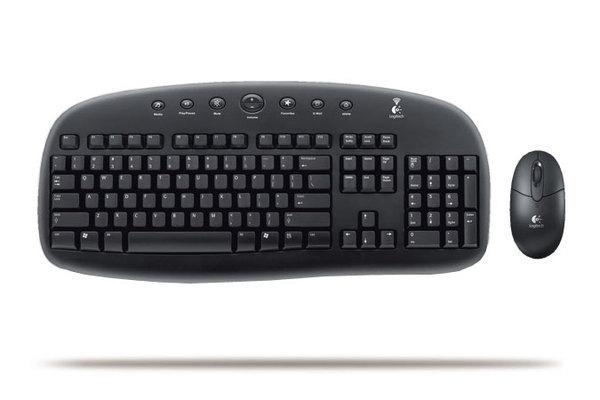 Logitech EX90 Cordless Desktop