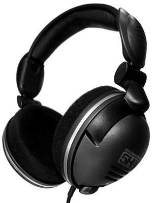 SteelSeries 5H V2 Gaming Headset (Black) for PC Games