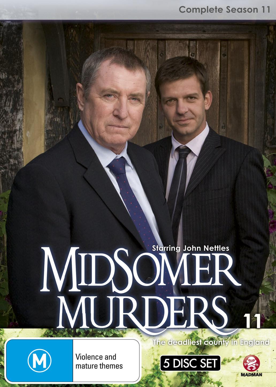 Midsomer Murders - Complete Season 11 (Single Case) on DVD image