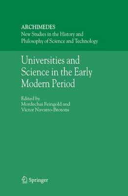 Universities and Science in the Early Modern Period image