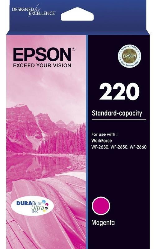 Epson Ink Cartridge - 220 (Magenta)
