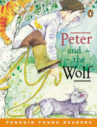 Peter and the Wolf Book & Cassette by Lynne Hendon image