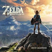 Legend of Zelda: Breath of the Wild 2019 Wall Calendar by Pokemon