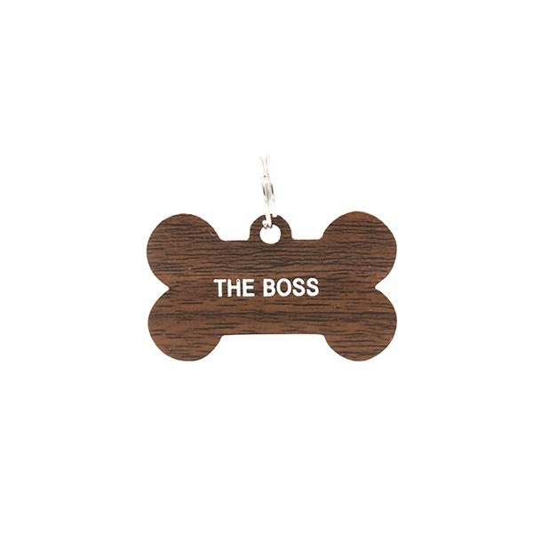 Dog Tag: The Boss (Brown)