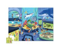 Crocodile Creek: Shaped Box Puzzle - Aquarium (48pc) image