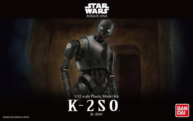 Star Wars 1/12 K-2SO - Scale Model Kit