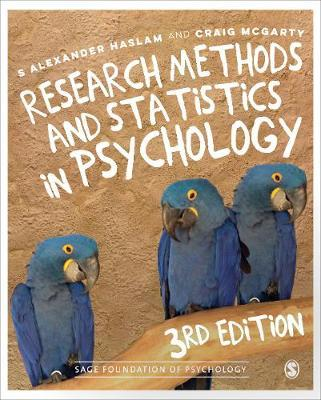 Research Methods and Statistics in Psychology by Alex Haslam