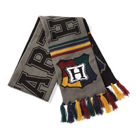 Harry Potter - Hogwarts Reversible Knit Scarf