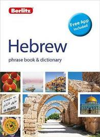 Berlitz Phrase Book & Dictionary Hebrew by APA Publications Limited