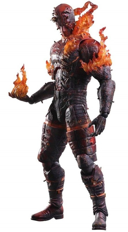 Metal Gear Solid V: The Man on Fire - Play Arts Action Figure