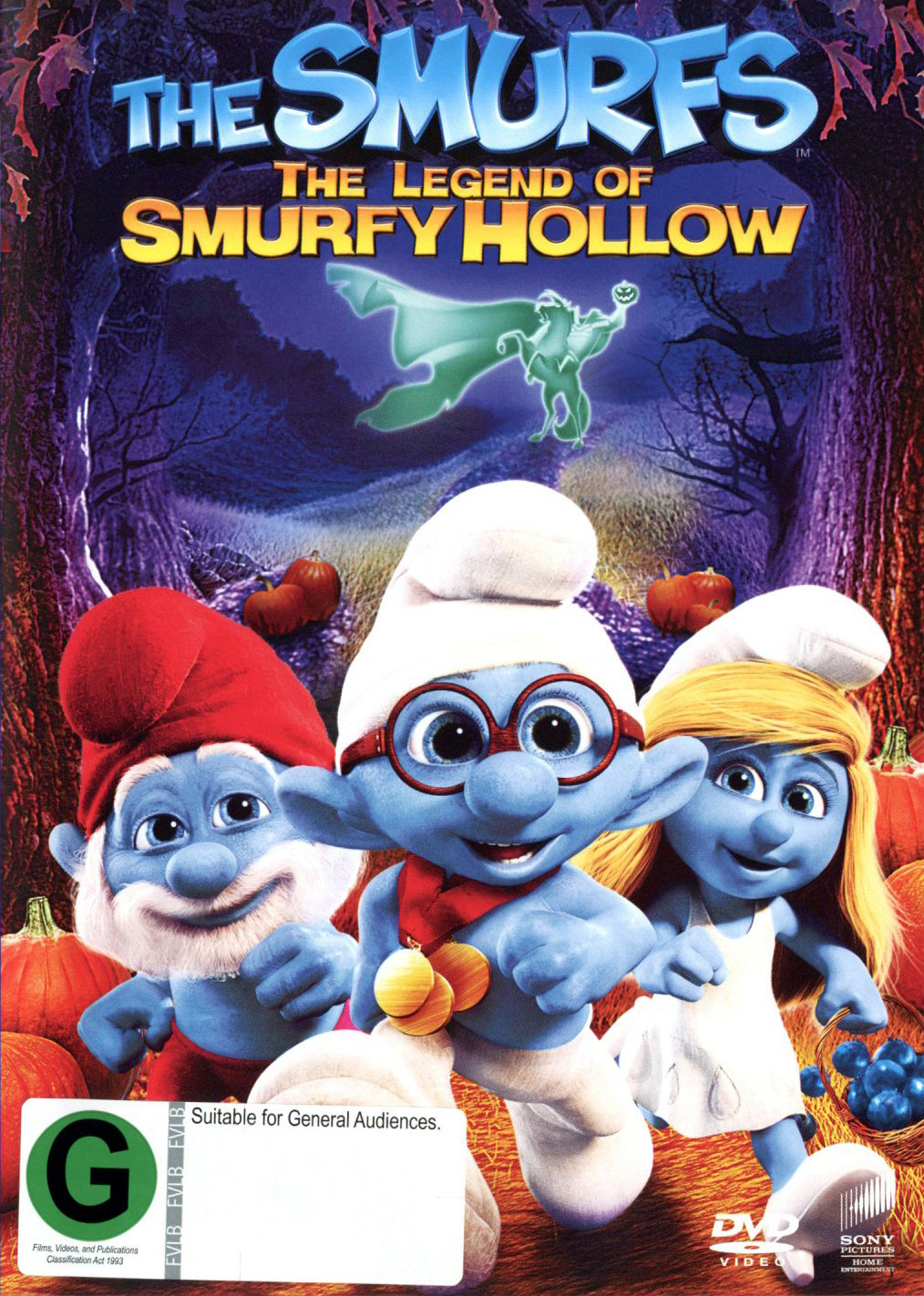 The Smurfs: The Legend of Smurfy Hollow on DVD image