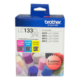 Brother Ink Cartridge LC133CL3PK (Multi Color)