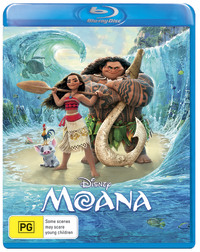 Moana on Blu-ray image