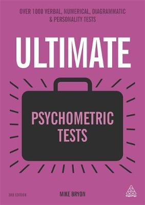 Ultimate Psychometric Tests by Mike Bryon image