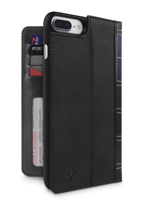 Twelve South BookBook for iPhone 6/6S/7 Plus (Black)