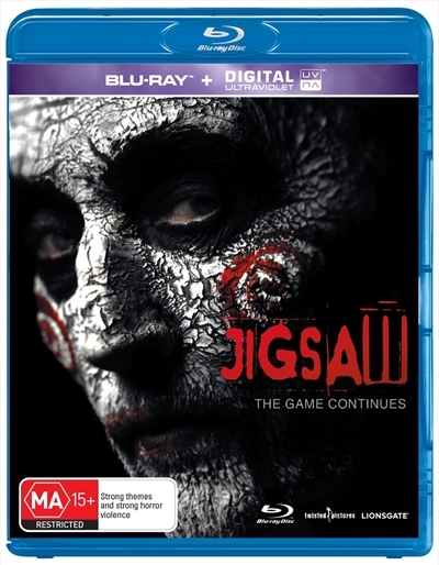 Jigsaw on Blu-ray