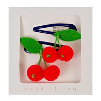 Hair Clips Cherries