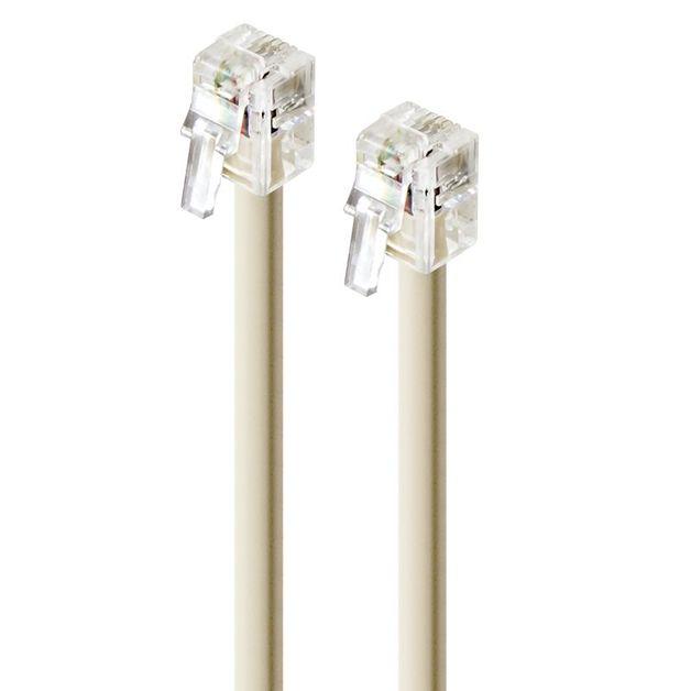 Alogic 15m Rj12 Telephone Line Cable