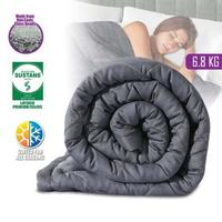 Cuddle Comfort Weighted Blanket Grey (6.8kg)