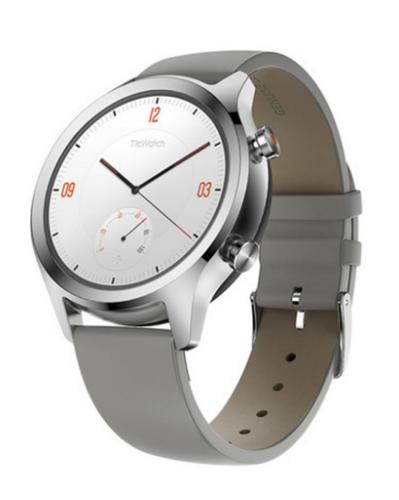 Mobvoi: TicWatch C2 - NFC Smartwatch (Platinum)