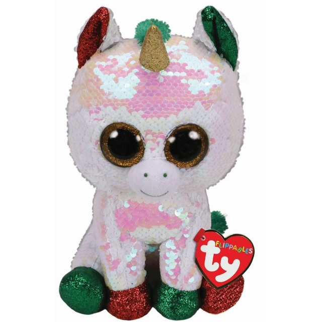 TY Beanie Boo: Flip Stardust Unicorn - Small Plush