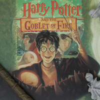 Harry Potter: Goblet of Fire - Book Cover Artwork