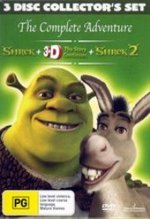 Shrek - The Complete Adventure on DVD