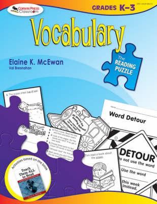The Reading Puzzle: Vocabulary, Grades K-3 by Elaine K. McEwan-Adkins image