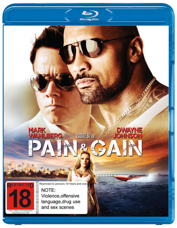 Pain & Gain on Blu-ray