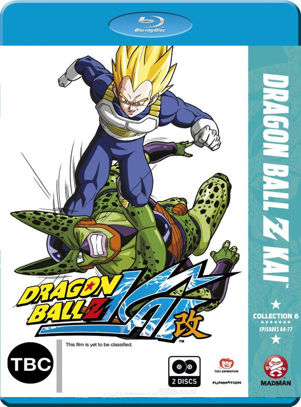 Dragon Ball Z - Kai Collection 6 on Blu-ray