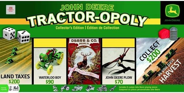 John Deere: Tractor-Opoly - Board Game